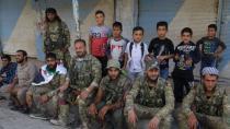 Suriye Milli Ordusu Ailelerine Kavuştu