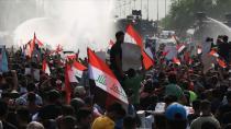 IRAK'TAKİ GÖSTERİLERE MÜDAHALE: 15 YARALI