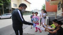 Başkan Keskin'den Çocuklara Özel Oyun