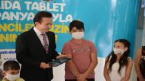 Tuzla'da askıda tablet kampanyası ile eğitime destek!