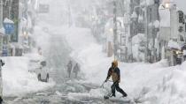 Japonya'da kar fırtınası 38 ölü!