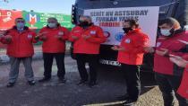Tuzla'dan Afrin'e yardım tırı